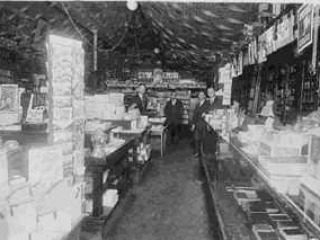 Inside the store in 1920